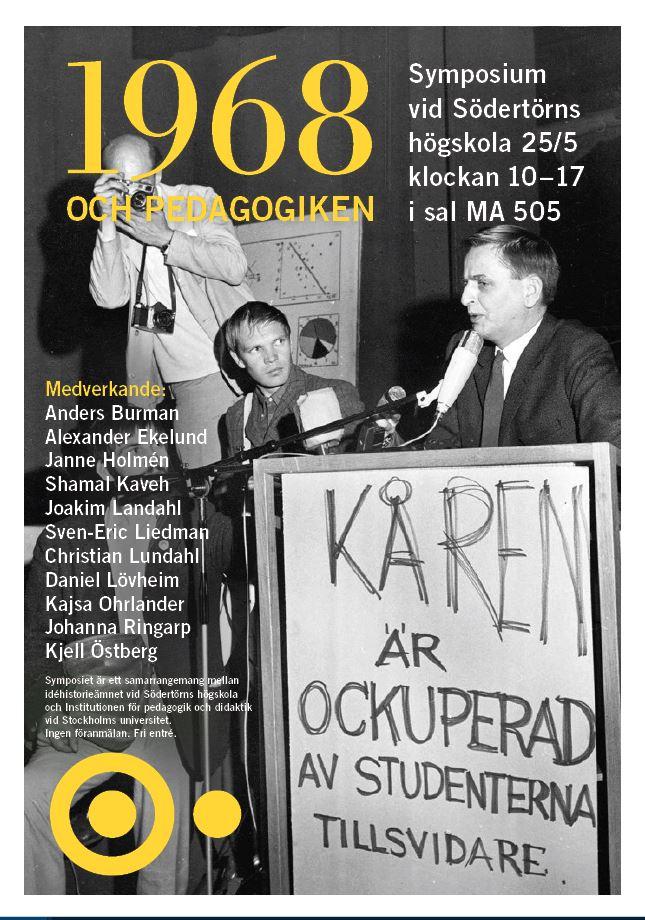 1968 affisch